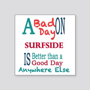 "Surfside Square Sticker 3"" x 3"""