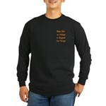 Wear Red Support our Troops Long Sleeve Dark T-Sh