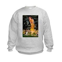 Fairies and Beagle Sweatshirt