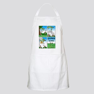 Rosh Hashanah with Adam  Eve Apron