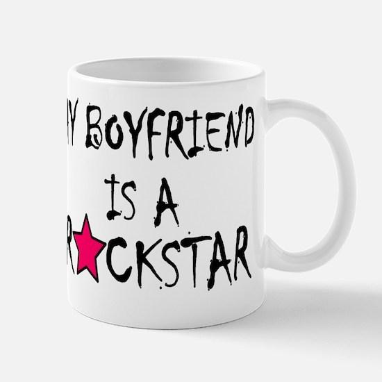 My Boyfriend is a Rockstar Mug