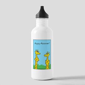 giraffes passover Stainless Water Bottle 1.0L