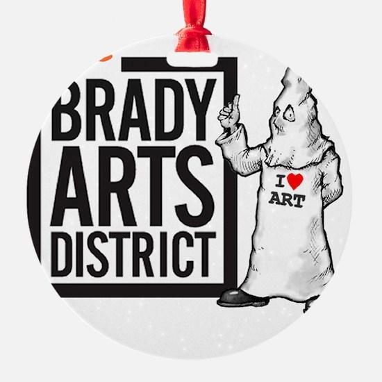 Tate Brady Arts District Ornament
