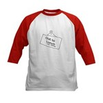 Out to Lunch Kids Baseball Jersey