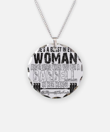 beast in every woman camo sn Necklace