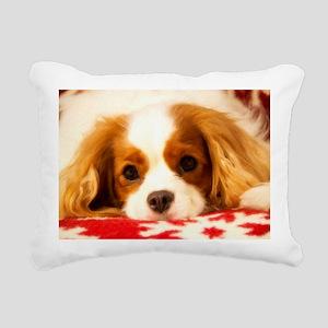 Profile Of A Cavalier Ki Rectangular Canvas Pillow