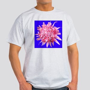 Bright Pink Bromeliad in Bloom Light T-Shirt