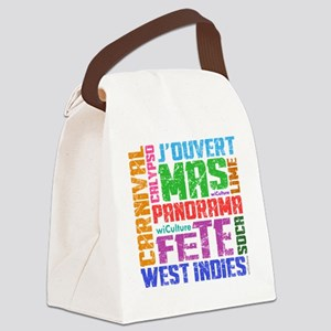Carnival Keywords Canvas Lunch Bag