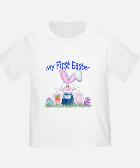 Boy first Easter Bunny! T