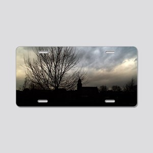 Evenings Descent Aluminum License Plate