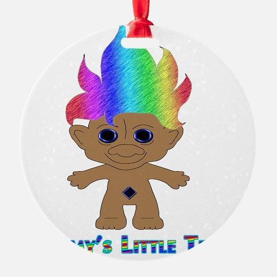 Mommys Little Troll Ornament