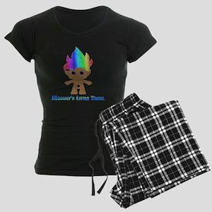 Mommys Little Troll Women's Dark Pajamas