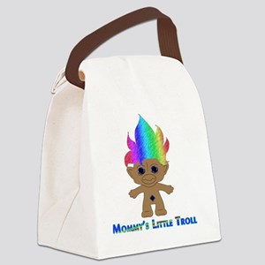 Mommys Little Troll Canvas Lunch Bag