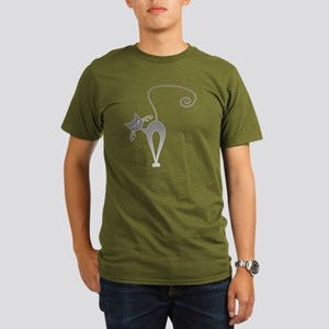 Stella Cat Organic Men's T-Shirt (dark)