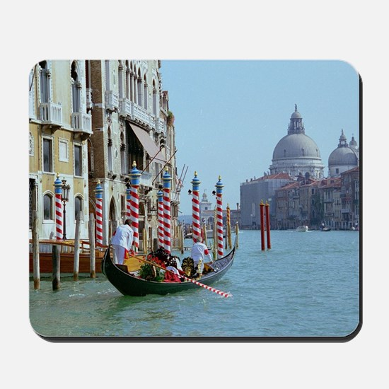 The Grande Canal in Italy Venice Mousepad