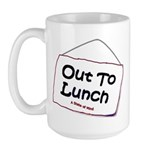 Out to Lunch Large Mug