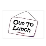 Out to Lunch Postcards (Package of 8)