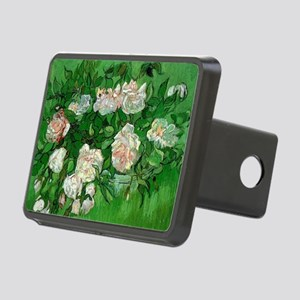 Pink Roses by Vincent van  Rectangular Hitch Cover
