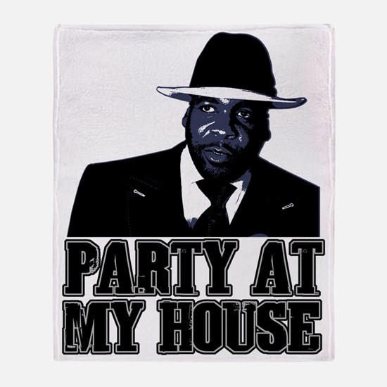 Kwame - Party At My House! Throw Blanket