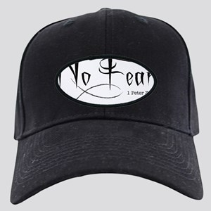 No Fear - 1 Peter 3:14 Black Cap