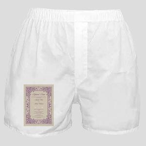 22-vignette_purple2 Boxer Shorts