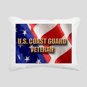 usa uscg vet Rectangular Canvas Pillow