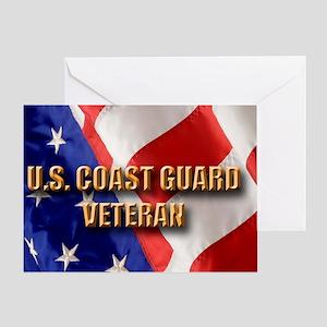 usa uscg vet Greeting Card