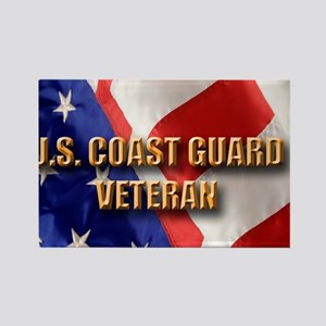 usa uscg vet Rectangle Magnet