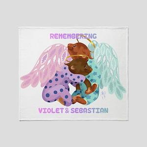 Violet and Sebastian Throw Blanket