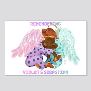 Violet and Sebastian Postcards (Package of 8)