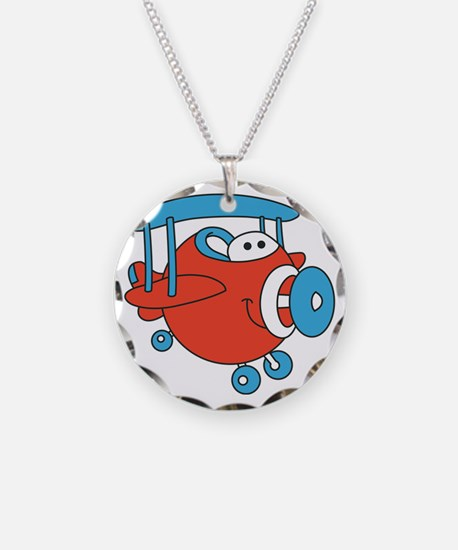 Chubby Plane Necklace