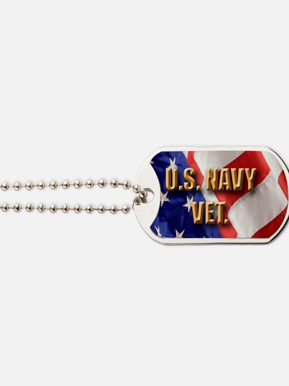 usa navy vet Dog Tags
