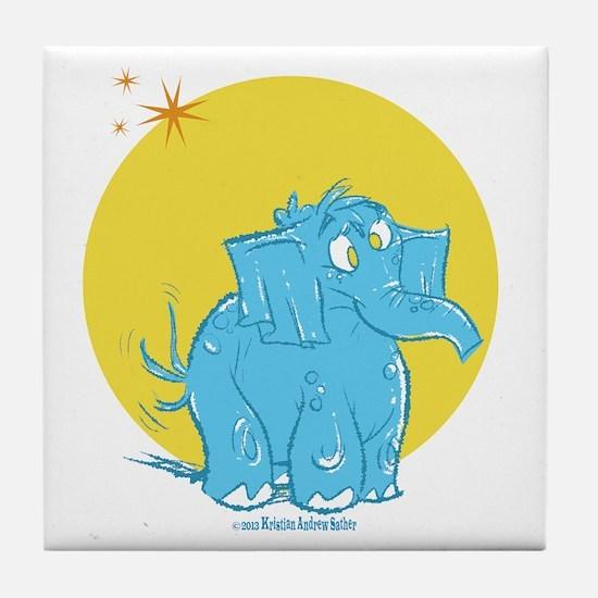 Shelly Elephant Tile Coaster