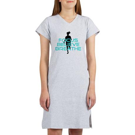Aqua Focus Believe Breathe Women's Nightshirt