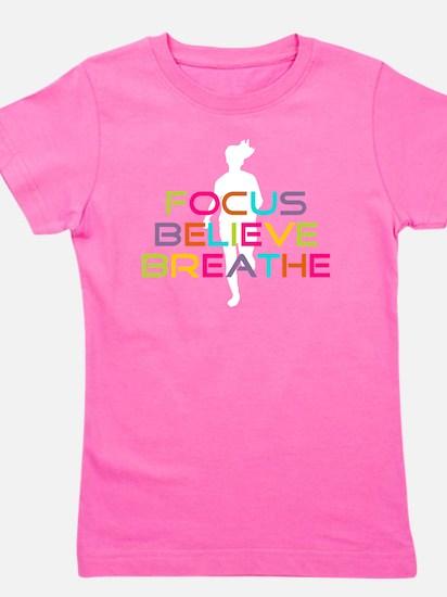 Multi Focus Believe Breathe Girl's Tee