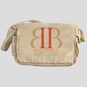 Back II Basics (tri-color dark) Messenger Bag