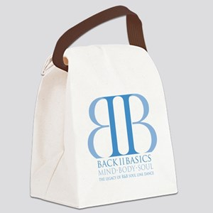 Back II Basics (dusk blue) Canvas Lunch Bag