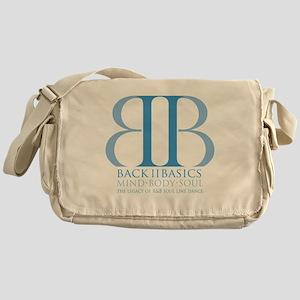 Back II Basics (dusk blue) Messenger Bag
