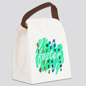 foster.... Canvas Lunch Bag