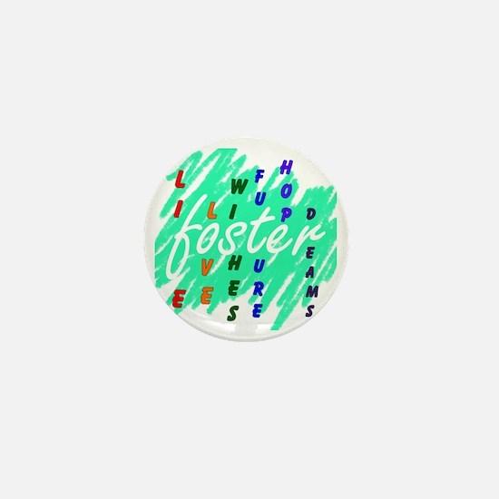 foster.... Mini Button