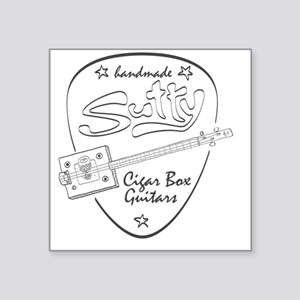 "Sutty CBG (light) Square Sticker 3"" x 3"""