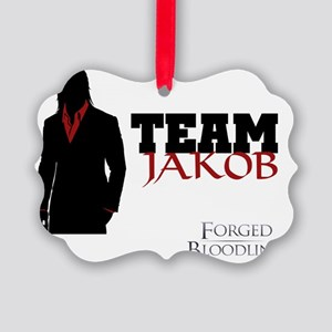 Team Jakob Picture Ornament