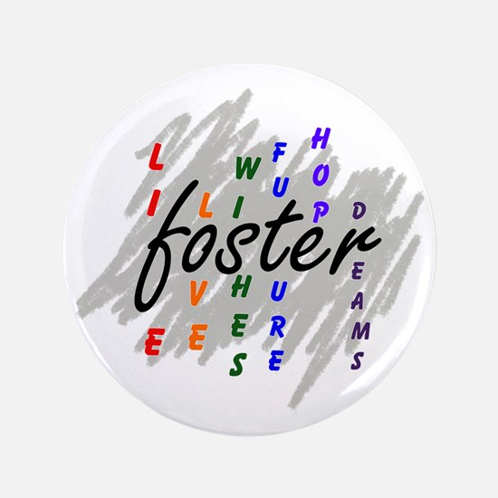 "foster... 3.5"" Button"