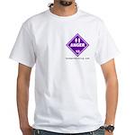 Anger White T-Shirt