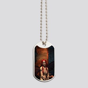 The Bored Demon Dog Tags