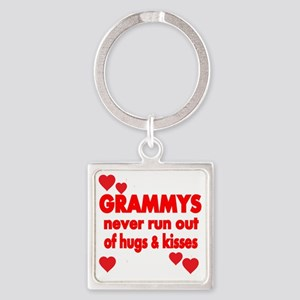 GRAMMYS  NEVER RUN  OUT OF HUGS  K Square Keychain