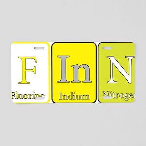 Finn Aluminum License Plate