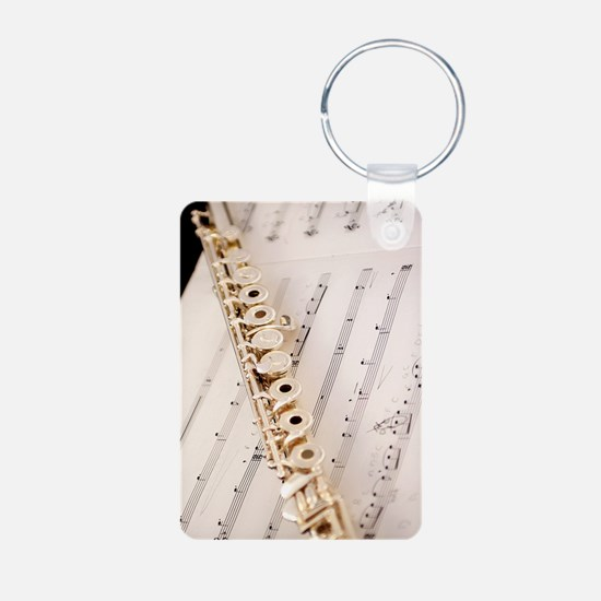Flute and Music For Phone  Keychains