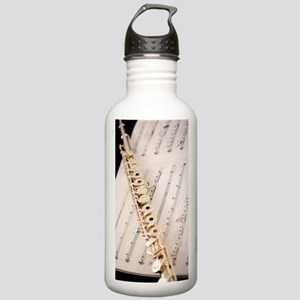 Flute and Music For Ph Stainless Water Bottle 1.0L