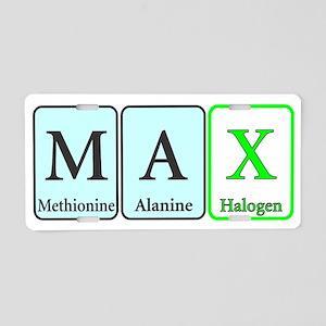 Max Aluminum License Plate